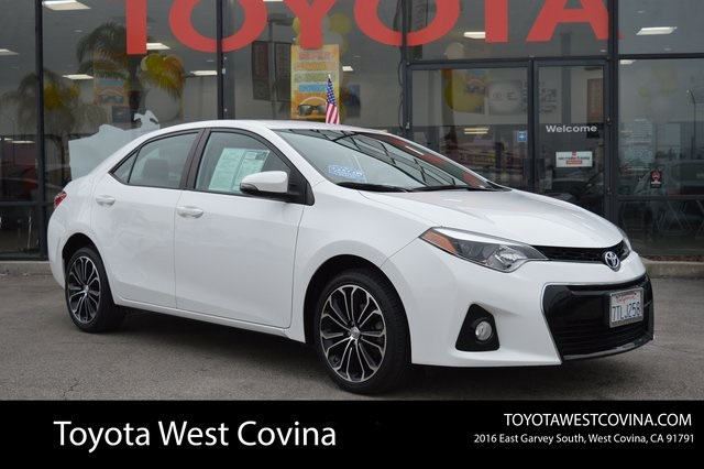 Toyota Corolla S Plus >> Pre Owned 2016 Toyota Corolla S Plus For Sale P0246 Toyota Of