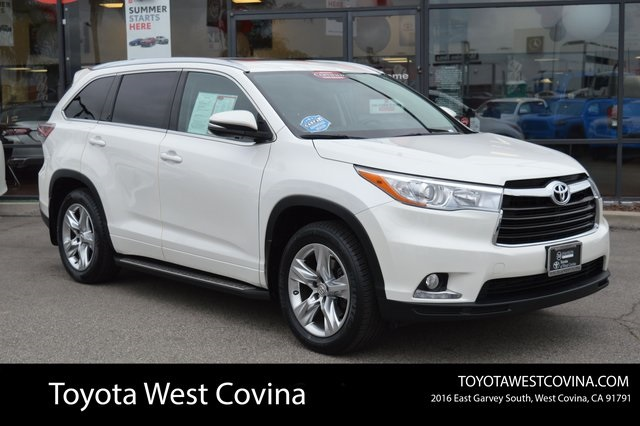 2015 Toyota Highlander For Sale >> Certified Pre Owned 2015 Toyota Highlander Limited Awd For Sale